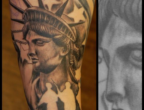 Lady Liberty done by Alex Miller